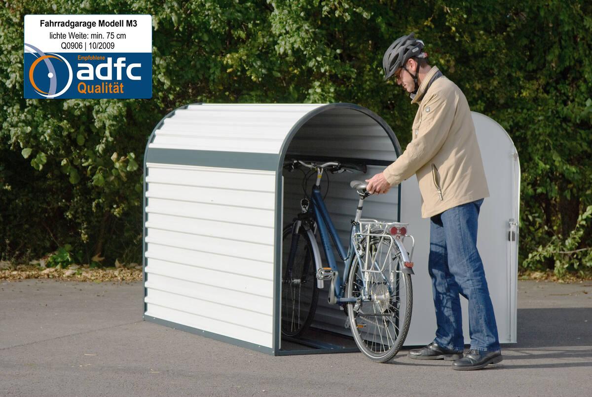 Fahrradgarage M3 Fahrgastinformation Und Stadtmobiliar